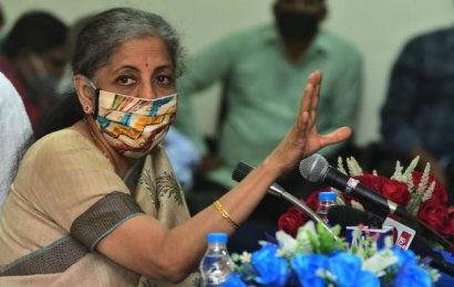 A.P.'s demand for revenue deficit grant has to be discussed: Nirmala Sitharaman