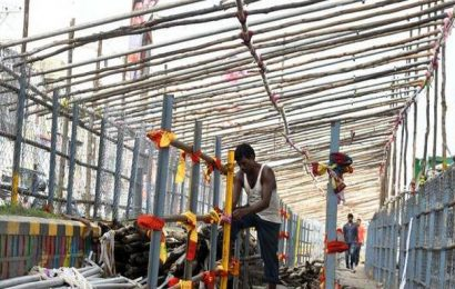 Online darshan ticket must at Durga temple during Dasara festivities