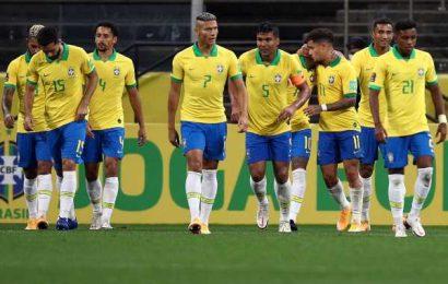 Football PIX: Brazil score five against Bolivia