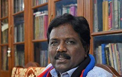 AIADMK govt. not interested in retrieving Panchami lands, says Villupuram MP