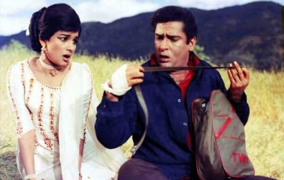 'It's impossible to forget what Shammi Kapoor meant to Hindi cinema'