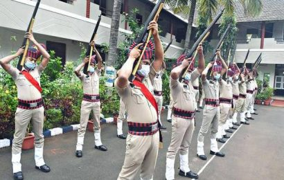 Policemen told to be cautious against COVID-19 while discharging duty
