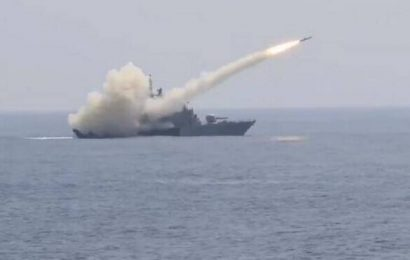 Navy demonstrates combat readiness; releases video of missile hitting target