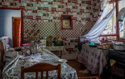 In Azerbaijan, a string of explosions, screams and then blood