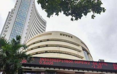 Sensex rallies 377 points; Kotak Bank zooms 12%