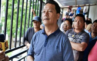 GJM founder Bimal Gurung makes public appearance, announces breaking ties with BJP