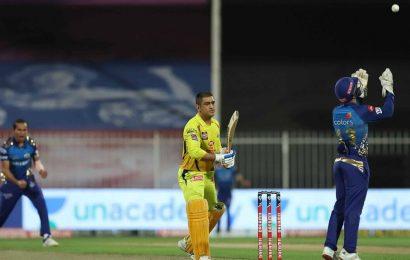 Chennai Super Kings hit rock bottom against Mumbai Indians