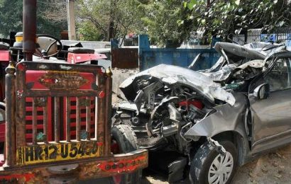 Three friends killed in road accident