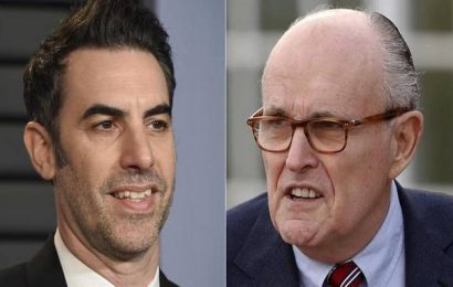 'Borat' sequel: Rudy Giuliani shown in hotel bedroom scene
