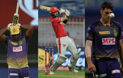 From Andre Russell to Pat Cummins: Players who have a disappointing IPL 2020 so far