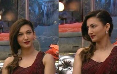 Bigg Boss 14: Gauahar Khan's stunning wine red saree comes at THIS price