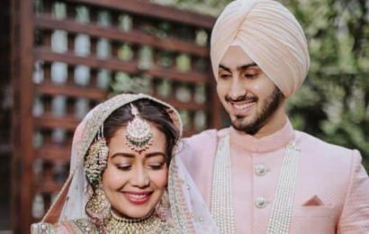 Newlywed Neha Kakkar adds Mrs. Singh to her social media handles after tying the knot with Rohanpreet Singh