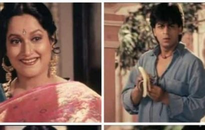 'Shah Rukh gave me all the expressions in my clothes,' reminisces Himani Shivpuri on her iconic saree scene in DDLJ