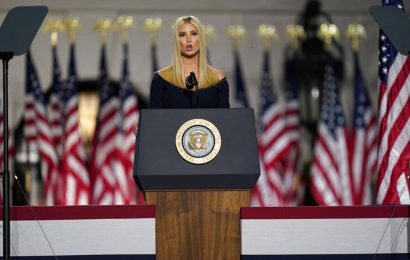 While her father rails against 'idiot' scientists, Ivanka Trump talks ice cream