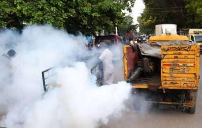 Dengue-control measures start ahead of monsoon