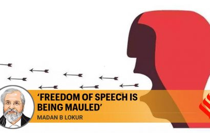 Distinction between free speech, sedition is being lost sight of by establishment