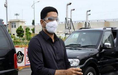 Nara Lokesh booked for rash and negligence driving
