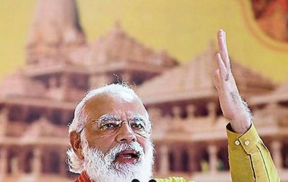 Welfare of nation, poor is paramount for me: PM Modi