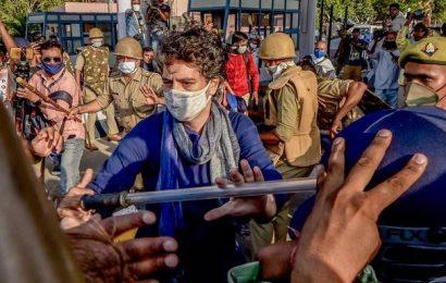 NCW seeks explanation from U.P. police over 'manhandling' of Priyanka Gandhi