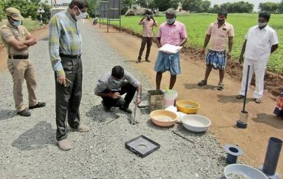 Officials told to expedite works taken up under PMGSY scheme in Namakkal