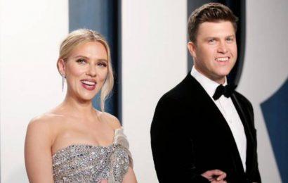Scarlett Johansson and Colin Jost tie the knot