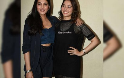 Shruti Haasan and Tamannah try to recover dwindling careers in same way