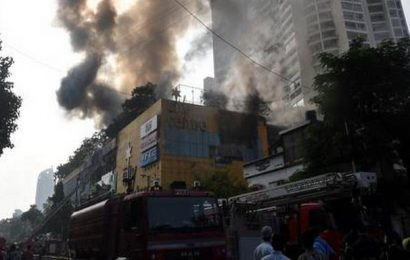 Mumbai mall blaze: Fire-fighting continues after 36 hours