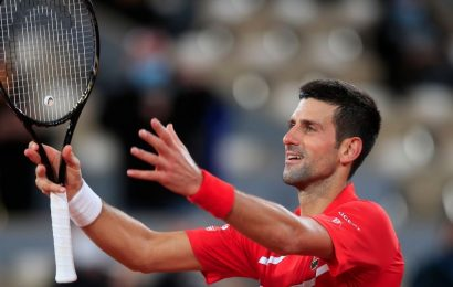 French Open 2020: Novak Djokovic battles past Karen Khachanov in first real test