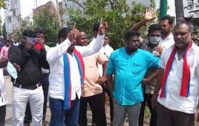 Tension over VCK leader's visit to a village in Erode district