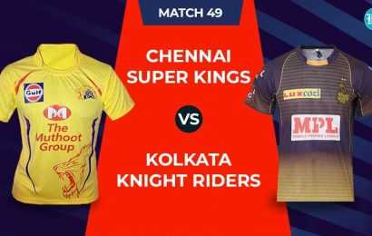 IPL 2020 – KKR Vs CSK, 1st innings: Live Updates: Score after 5 overs
