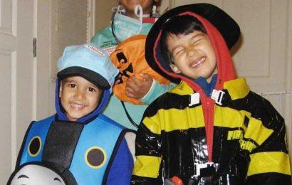 Madhuri Dixit and Shriram Nene share precious Halloween memories of sons Arin and Ryan: 'The kids are growing up'