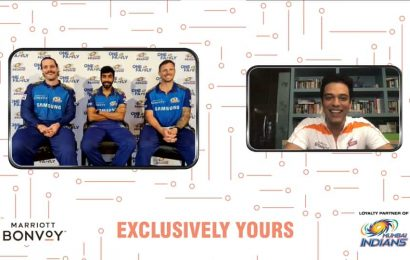 Clean bowled with Mumbai Indians and Marriott!