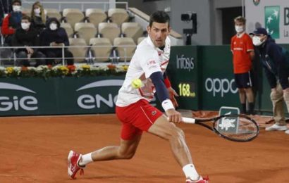 Djokovic survives scare to beat Carreno Busta, to face Tsitsipas in semi-final