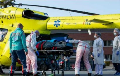 Amid medical crisis in Netherlands, Dutch hospital airlifts Covid-19 patients to Germany as coronavirus cases surge