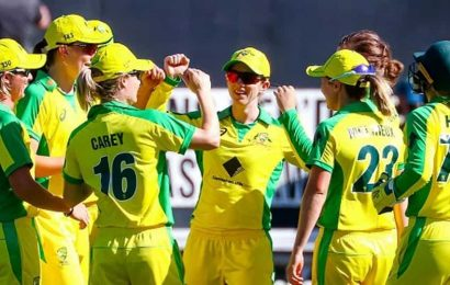 The Australian women's team did it. Hurrah. Now, how can we do it?