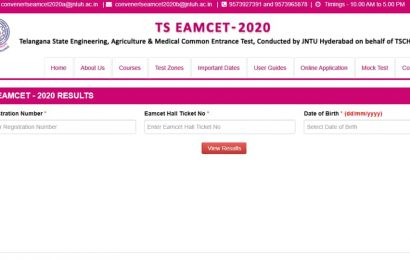 TS EAMCET results 2020 declared, here's direct link to check