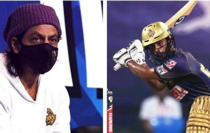 IPL2020: Performing in front of Shah Rukh Khan was dream come true -RahulTripathi after heroics against CSK