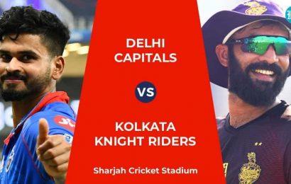 DC vs KKR Live Score, IPL 2020 Match Today: In-form teams collide in batting-friendly Sharjah
