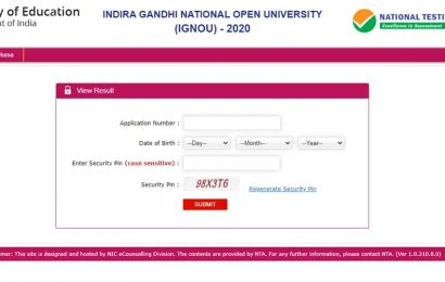 IGNOU OPENMAT and PhD entrance results 2020 declared, here's direct link