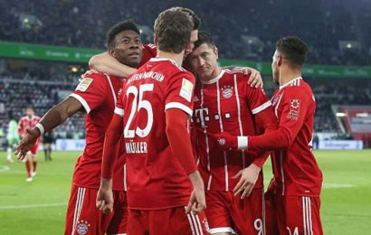 Bayern rout Atletico 4-0 to start Champions League defense
