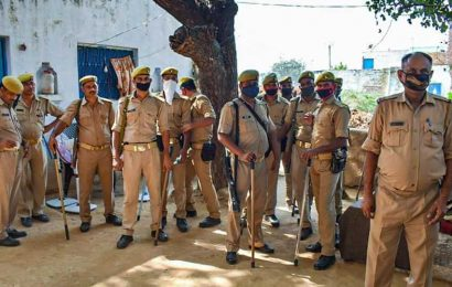 Metal detectors, CCTVs, 3-layer police cover for Hathras family's security