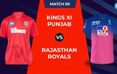IPL 2020 – KXIP Vs RR, 1st innings: Live Updates: Score after 5 overs