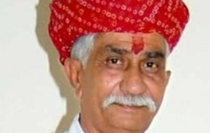 Rajasthan's Congress MLA Kailash Trivedi dies of post-Covid complications