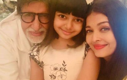 Amitabh Bachchan's 78th birthday: Aishwarya Rai shares adorable inside pics with her father-in-law and daughter Aaradhya