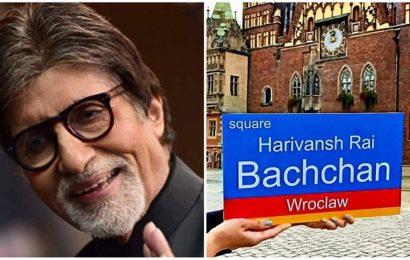 Polish city names square after Harivansh Rai Bachchan, Big B calls it a blessing