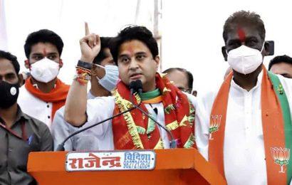 Jyotiraditya Scindia slams previous Congress government over graft