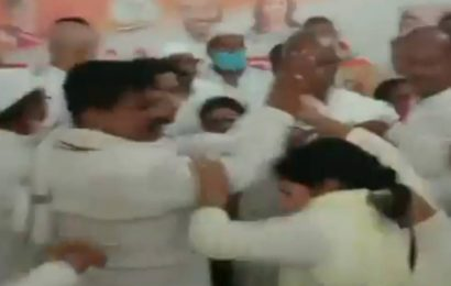Congress leader files counter-complaint against woman party worker over Deoria meeting ruckus