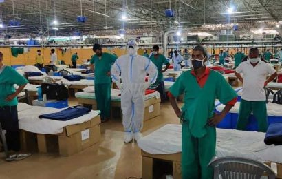 Covid-19:Country's active case load remains under one million