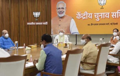 BJP and JDU agree to a 50-50 seat sharing for Bihar polls