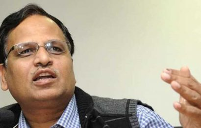 Satyendra Jain urges people to treat face mask as vaccine for Covid-19